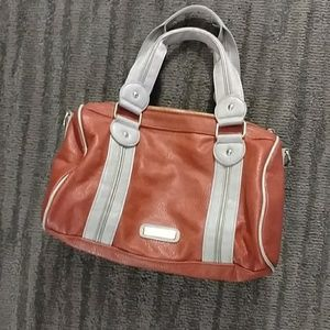 Steve Madden Orange Leather Purse
